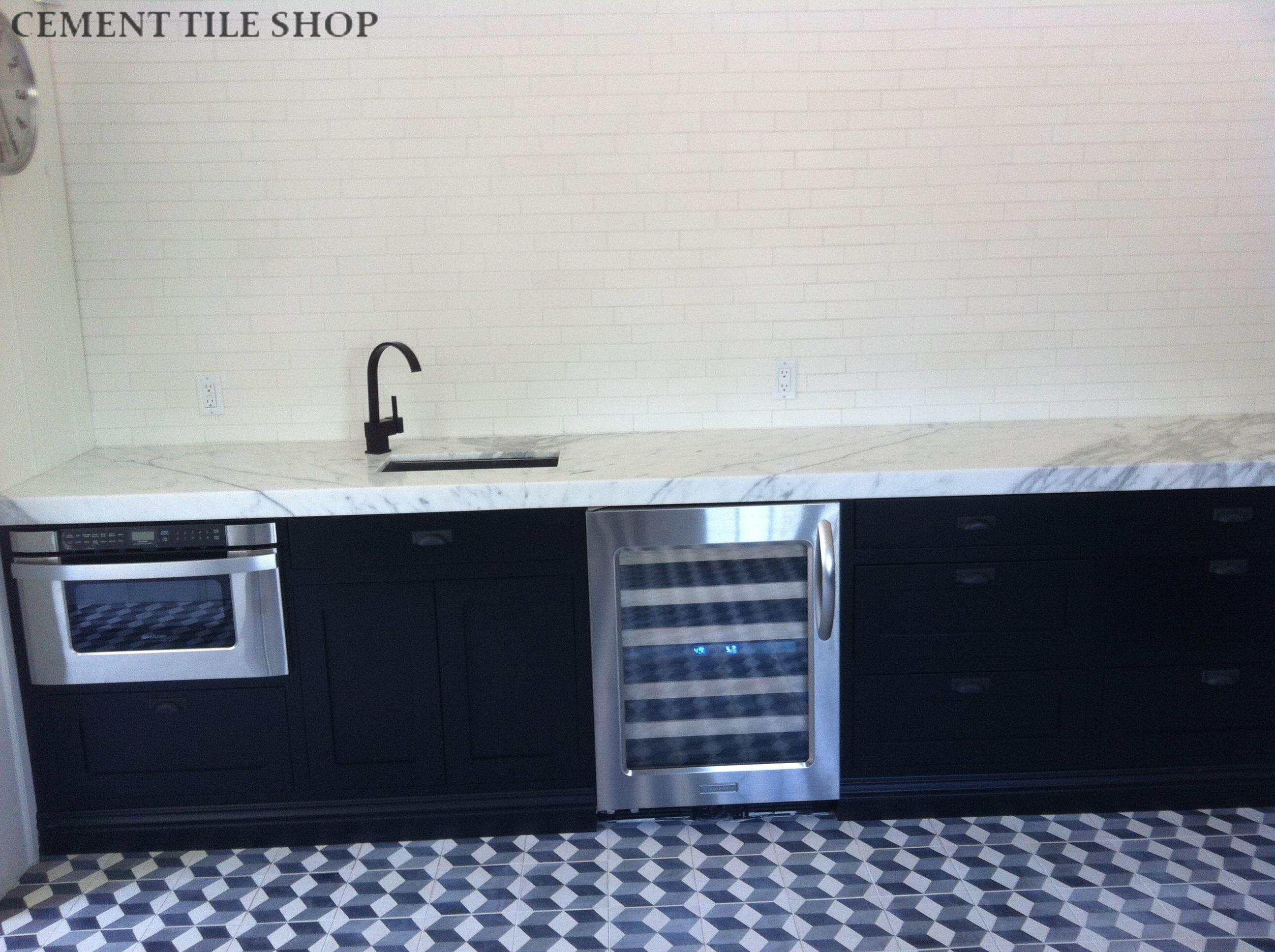 Cement Tile Shop - Harlequin Pattern 3