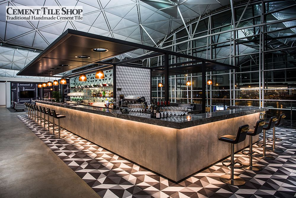 Commercial projects cement tile shop blog page 2 - Moderne loungebar ...