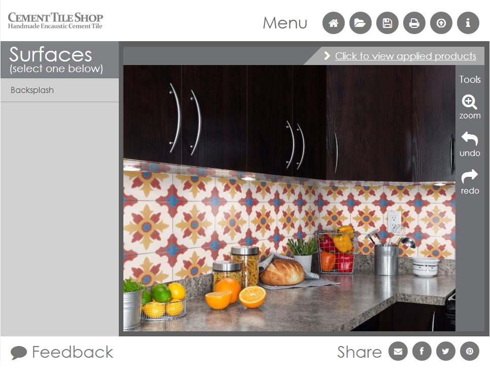 kitchen backsplash | Cement Tile Shop Blog