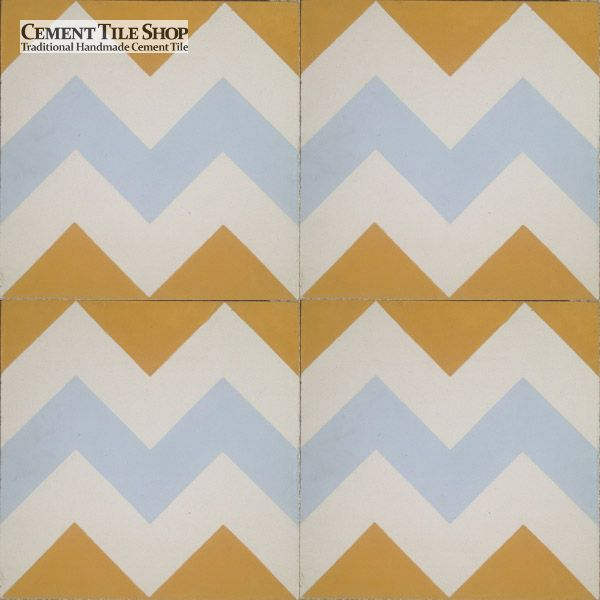 Cement Tile Shop - Chevron Multi