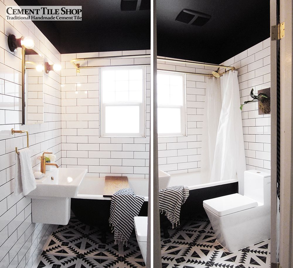 Cement bathroom tiles - 29th_ave_bathroom_makeover_curbly_013 29th_ave_bathroom_makeover_curbly_03 29th_ave_bathroom_makeover_curbly_09 29th_ave_bathroom_makeover_curbly_07