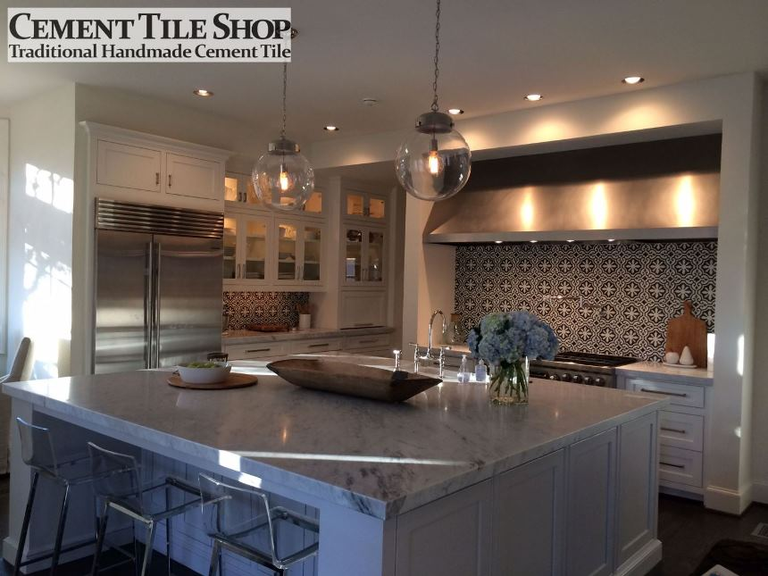 cement tile backsplash | Cement Tile Shop Blog