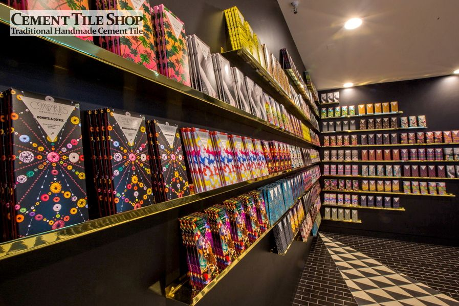 Cement Tile Shop - Compartes Chocolatier, Los Angeles