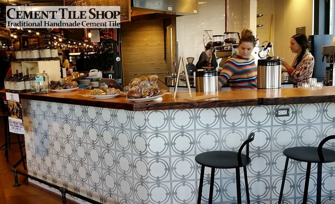 Anodyne Coffee - Cement Tile Shop Laurel Pattern
