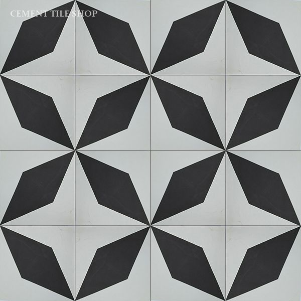 Cement Tile Shop - Diamond Black