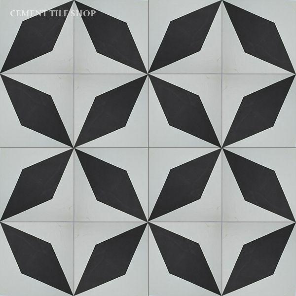 Cement Tile Shop - Diamond Black