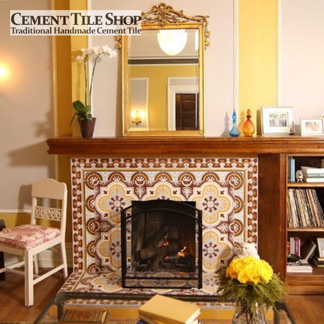 American Rehab: Detroit - Cement Tile Shop - CH120-1A Pattern