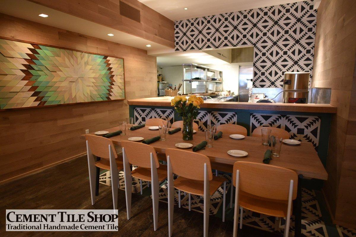 Cement Tile Shop - Tulum Tile - Javelina Tex Mex - NYC 2