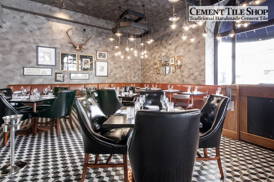 Cement Tile Shop - Harlequin at BDK Restaurant 2