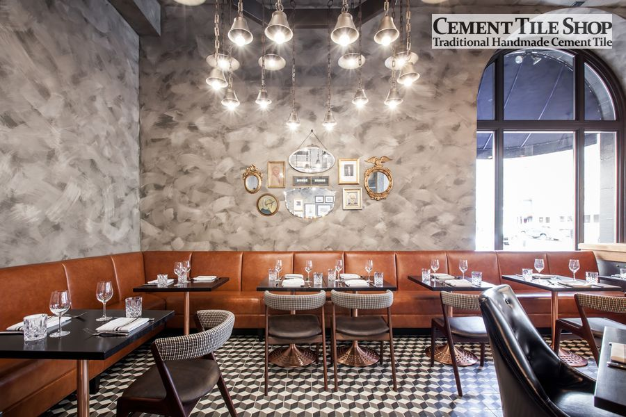 Cement Tile Shop - Harlequin at BDK Restaurant 3