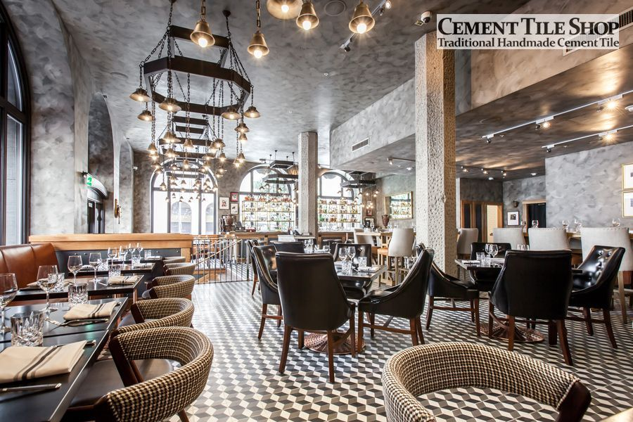 Cement Tile Shop - Harlequin at BDK Restaurant 4