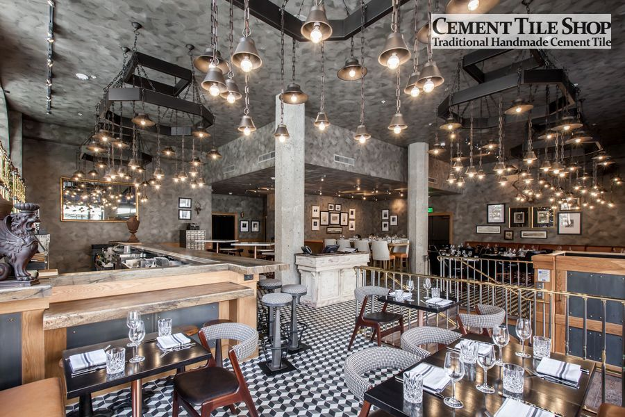 Cement Tile Shop - Harlequin at BDK Restaurant 6