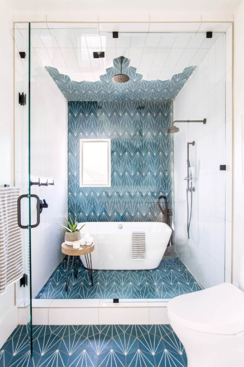Andrea West Design - Cement Tile Shop Starburst 1