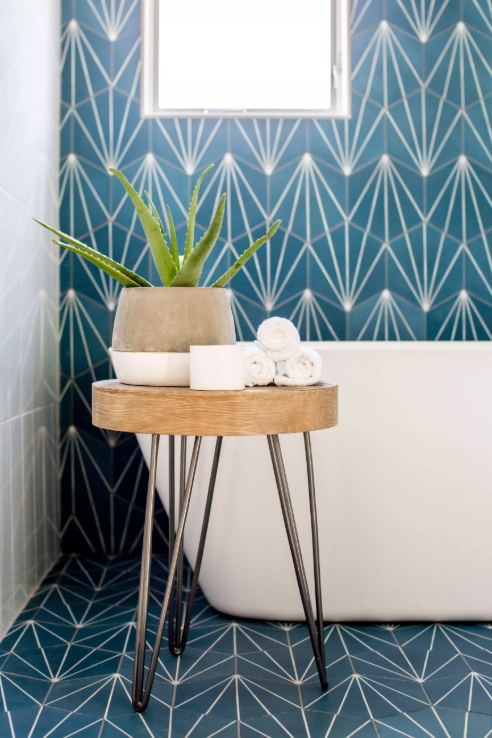 Andrea West Design - Cement Tile Shop Starburst 3