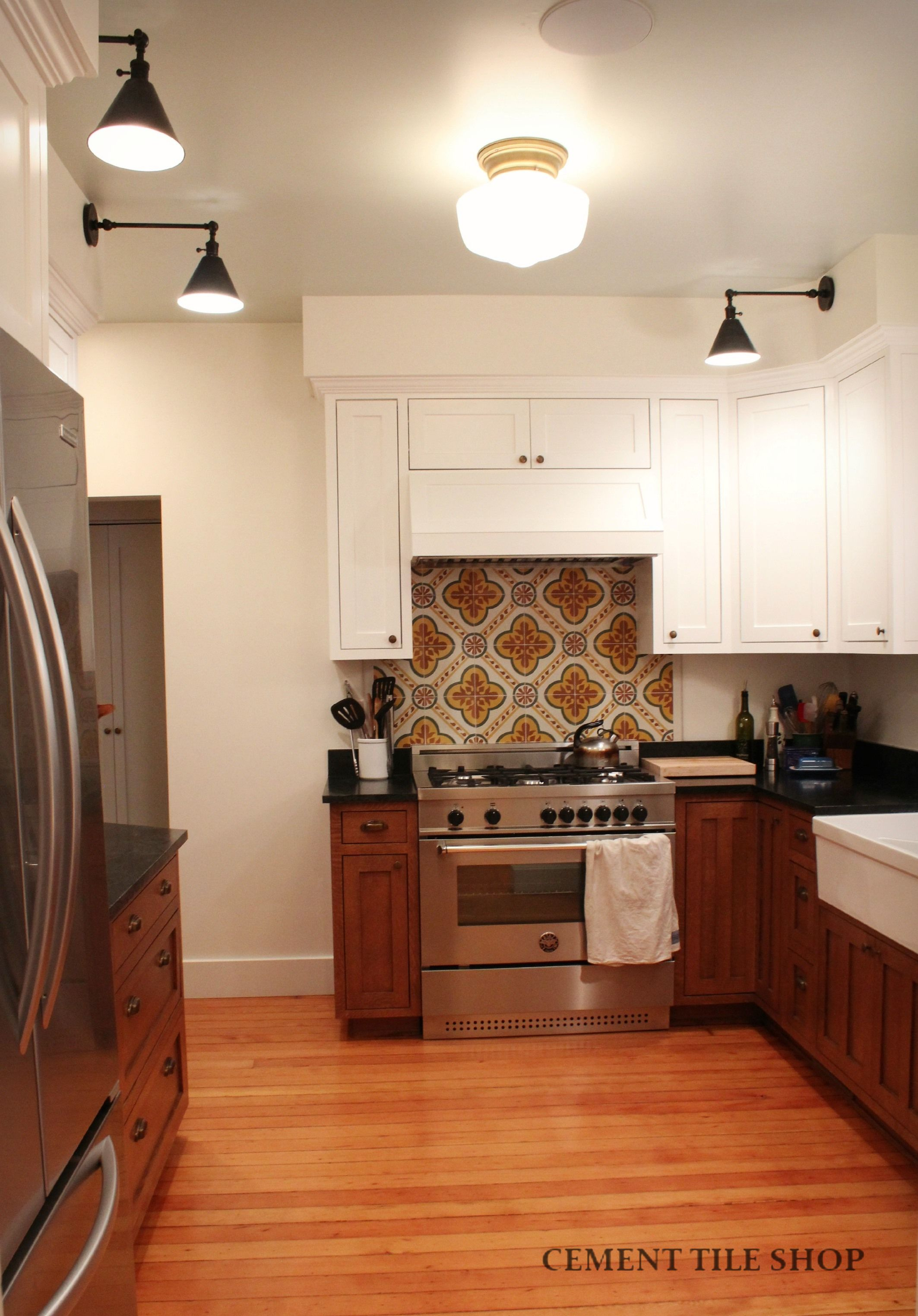 Urban Orchard Used Our Algeria Cement Tile