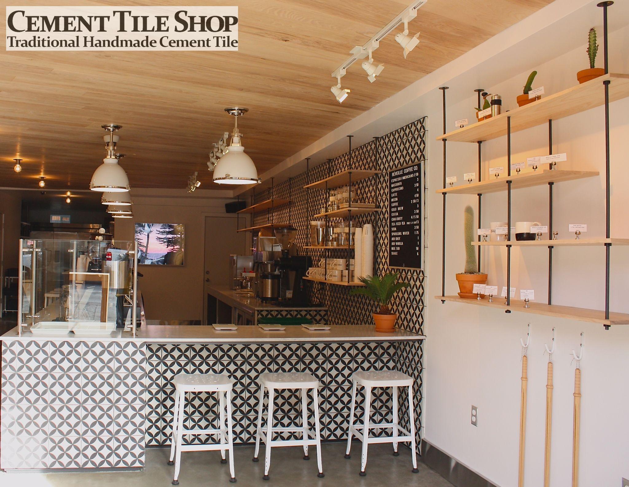 Reveille Coffee Co San Francisco Ca Cement Tile Shop