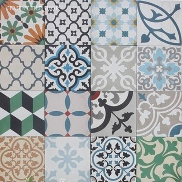 Patchwork Cement Tile Options Cement Tile Shop Blog