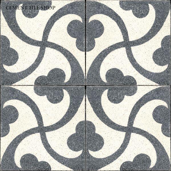 Cement Tile Shop - Encaustic Cement Tile Trebol Terrazzo